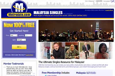 dating website in malaysia